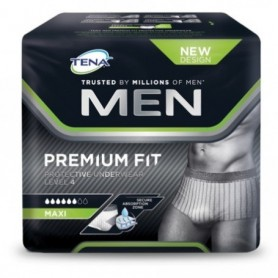 Tena Men Premium Fit Level 4 Maxi Talla L 10 Unidades