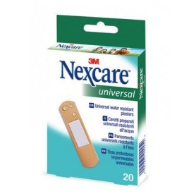 Nexcare™ universal Tiras impermeables 20 uds 19x76mm